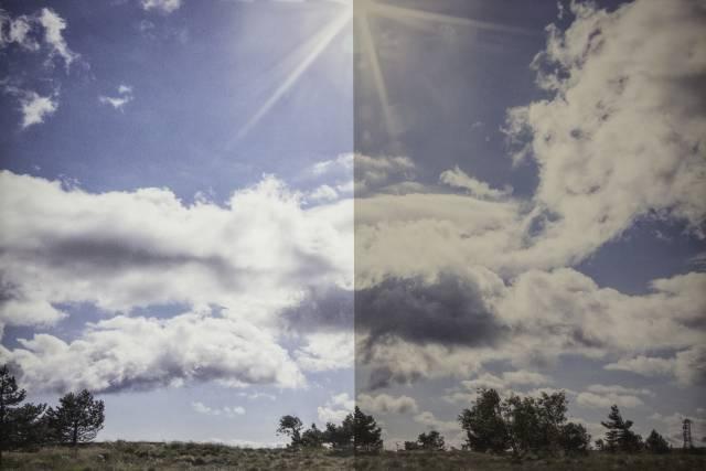 Sonnenschutzfolie KU 20 Kupfer außen