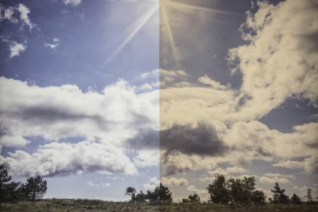 Sonnenschutzfolie KU 20 Kupfer Innen
