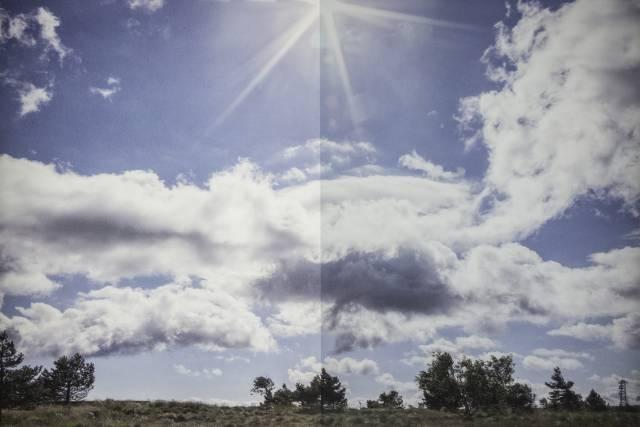 Sonnenschutzfolie S 440 Silber hell außen