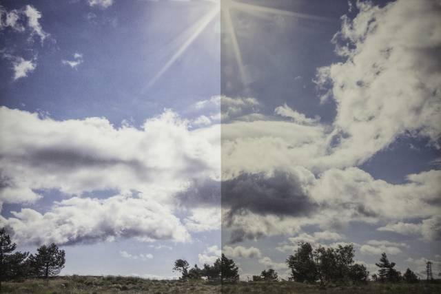 Sonnenschutzfolie Titane G 420 Grau Dunkel Aussen