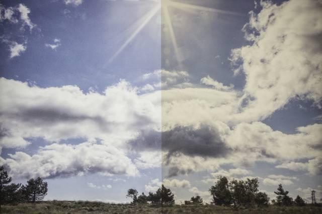 Sonnenschutzfolie Titane G 430 Grau mittel außen