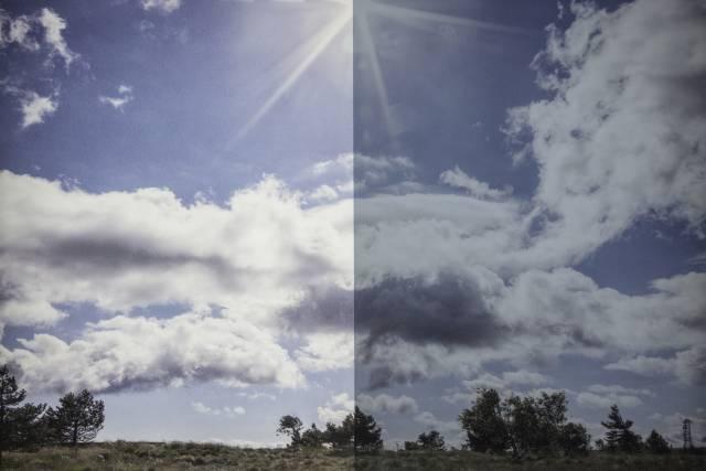 Sonnenschutzfolie Vista 90 Silber Aussen