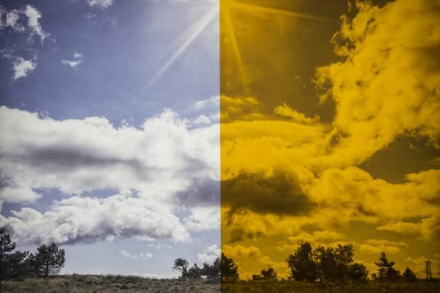 UV Schutzfolie Gelblichtfolie